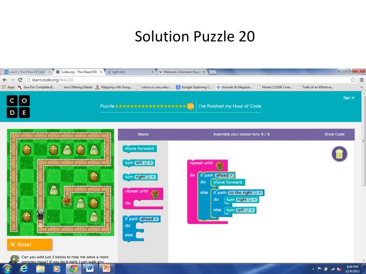 Solution Puzzle 20