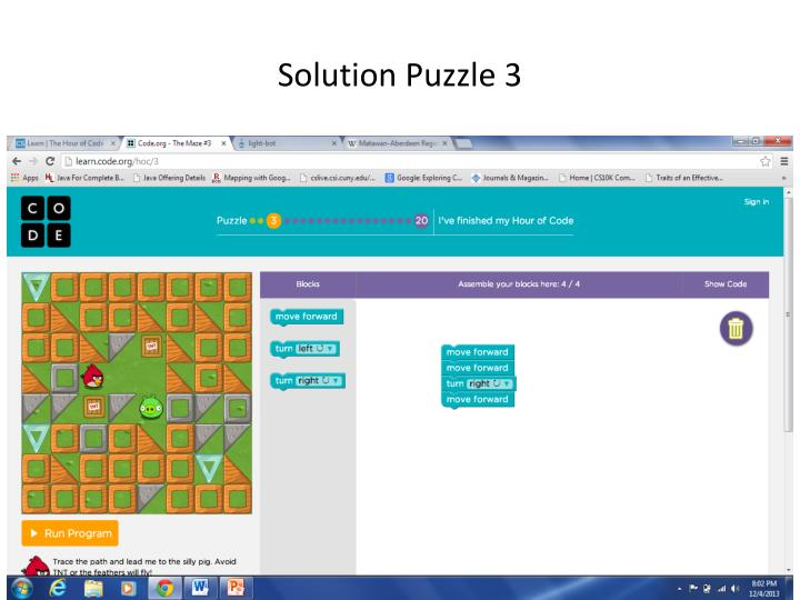 Solution Puzzle 3