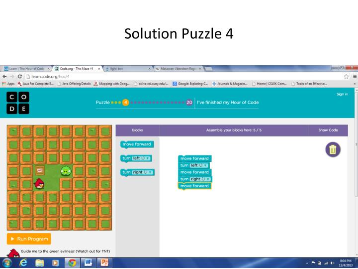 Solution Puzzle 4