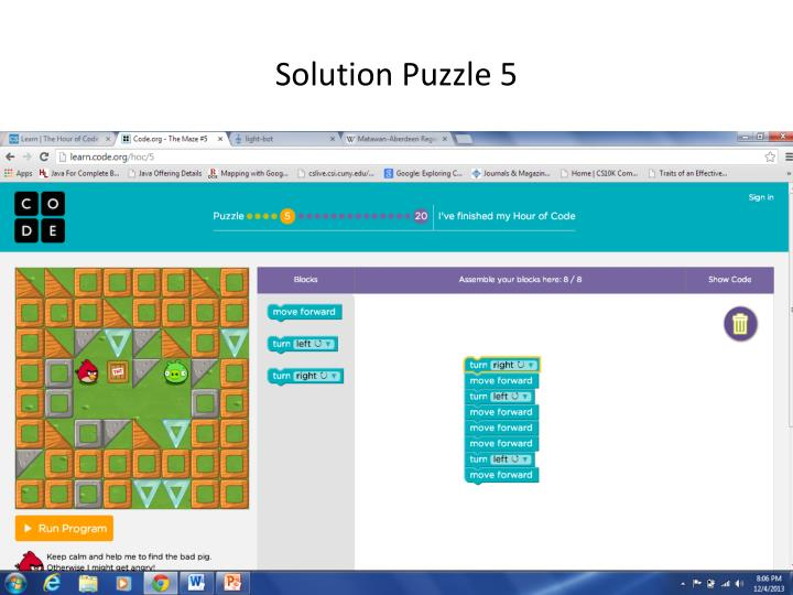 Solution Puzzle 5
