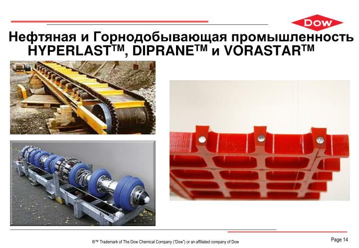 Нефтяная и Горнодобывающая промышленность