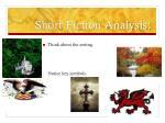 short fiction analysis