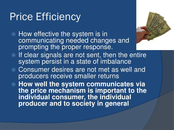 Price Efficiency