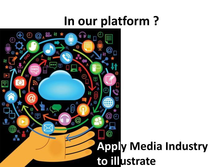 In our platform ?