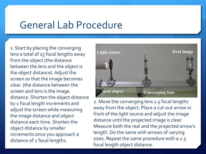 General Lab Procedure