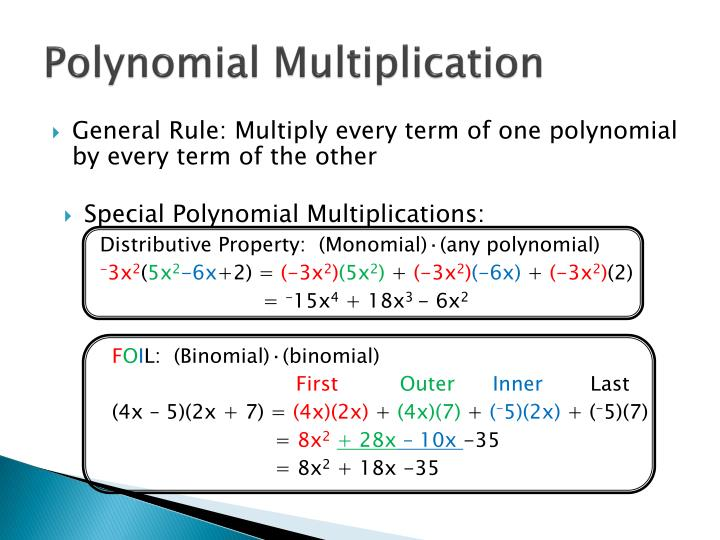 Polynomial Multiplication