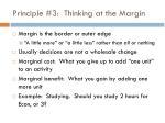 principle 3 thinking at the margin
