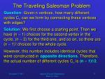 the traveling salesman problem2