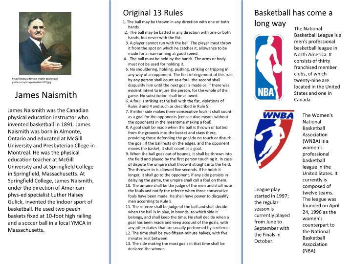 Original 13 Rules