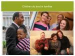 children do best in families
