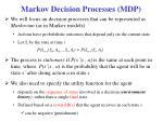 markov decision processes mdp
