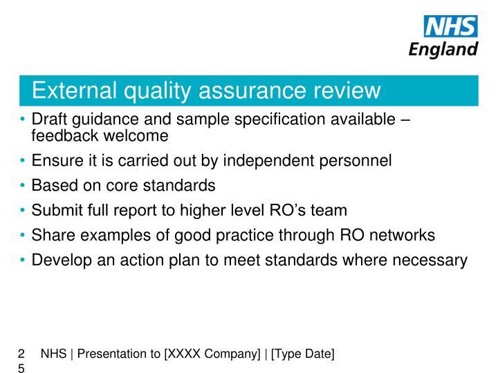 NHS | Presentation to [XXXX Company] | [Type Date]
