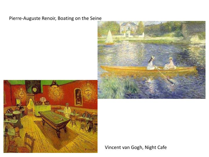 Pierre-Auguste Renoir, Boating on the Seine
