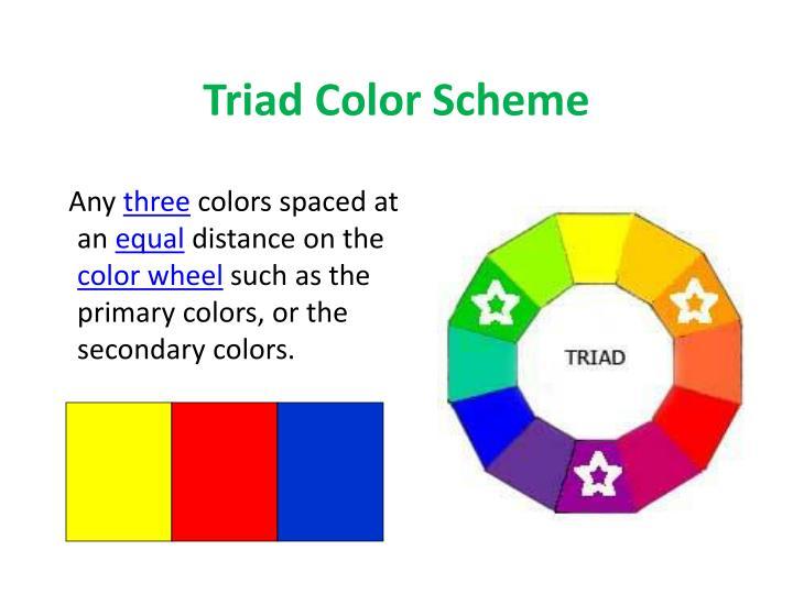 Triad Color Scheme