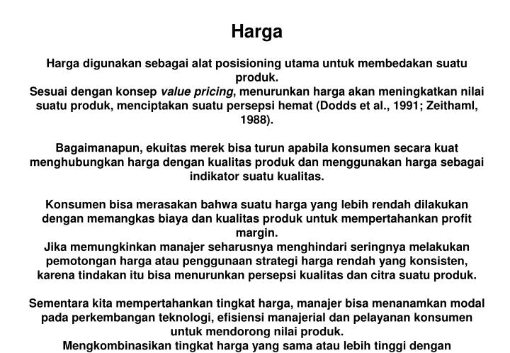 Harga