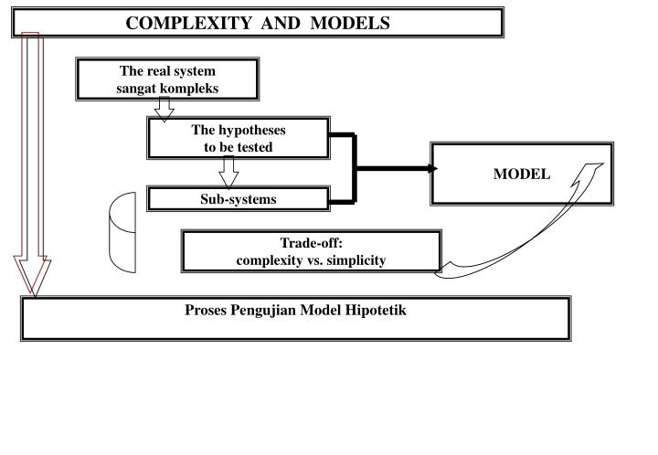 COMPLEXITY  AND  MODELS