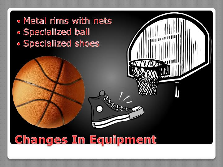 Metal rims with nets