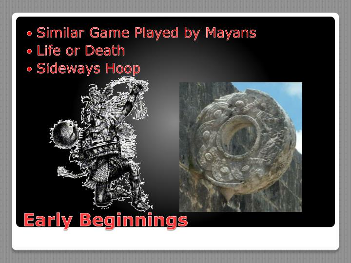 Similar Game Played by Mayans
