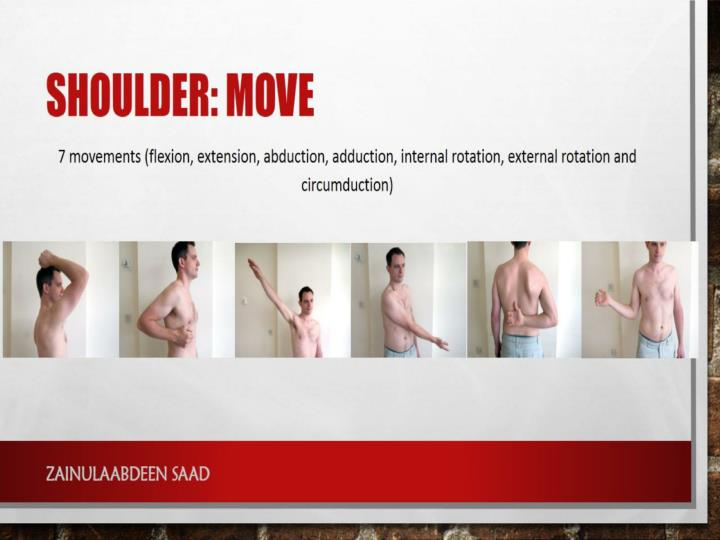 Shoulder: move