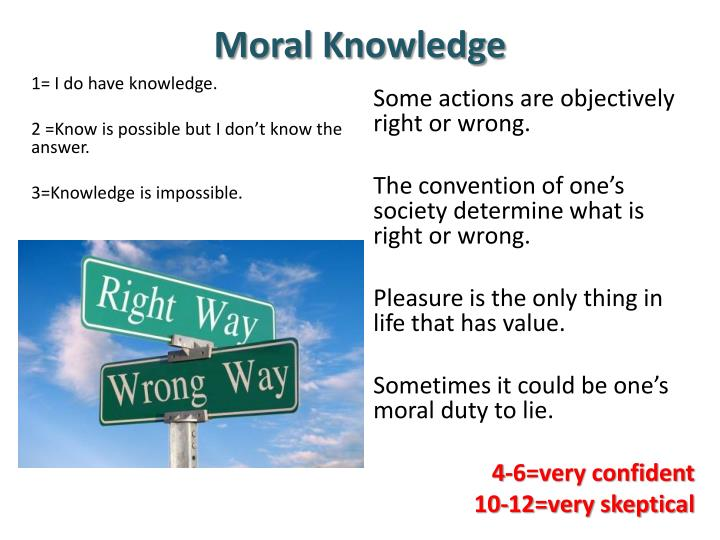 Moral Knowledge