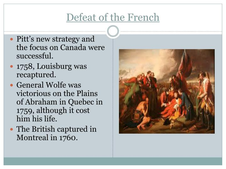 Defeat of the French
