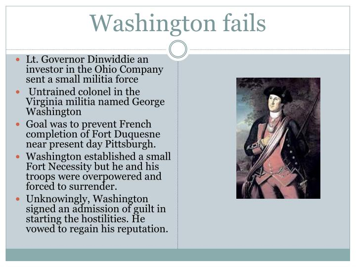 Washington fails