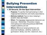 bullying prevention interventions1