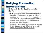 bullying prevention interventions2