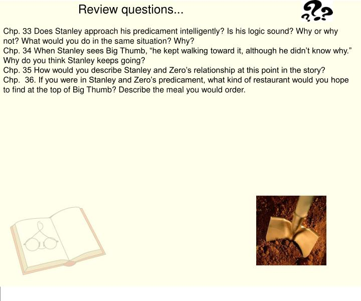 Review questions...