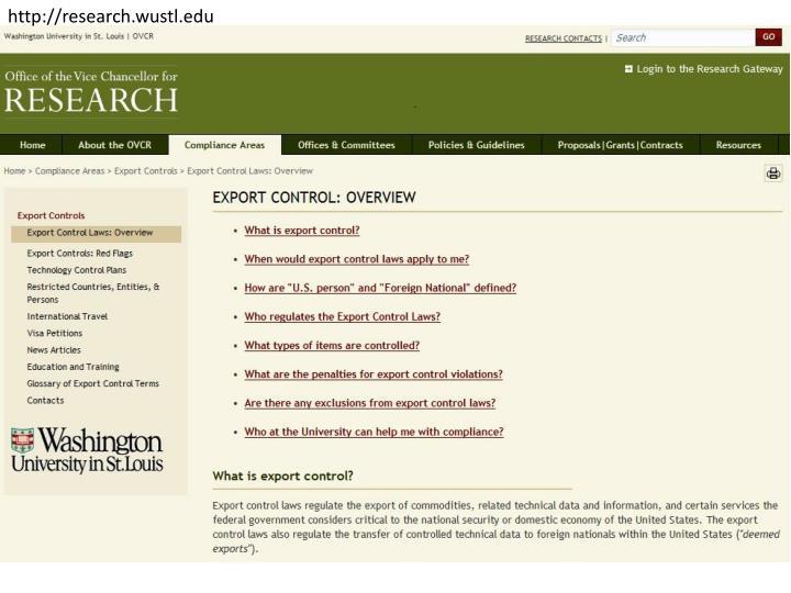 http://research.wustl.edu