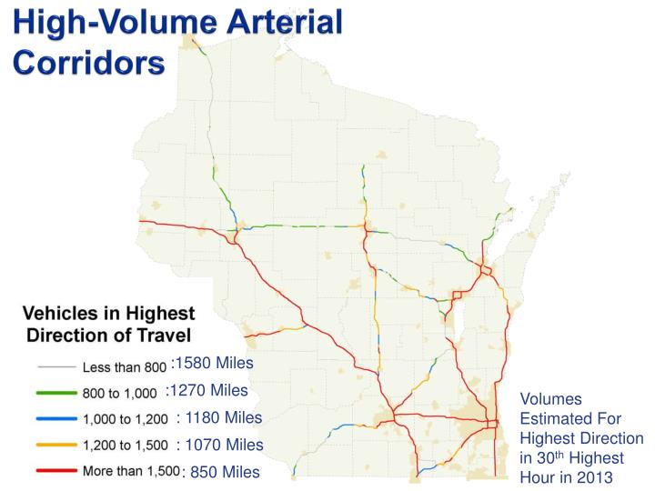 High-Volume Arterial Corridors