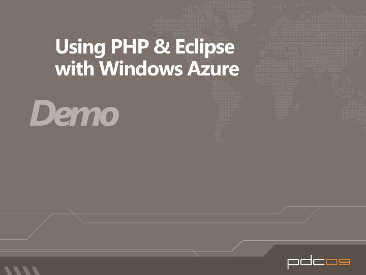 Using PHP & Eclipse