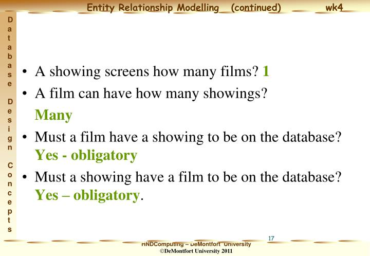 A showing screens how many films?