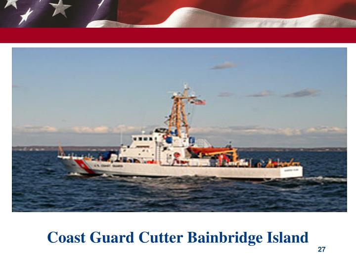Coast Guard Cutter Bainbridge Island