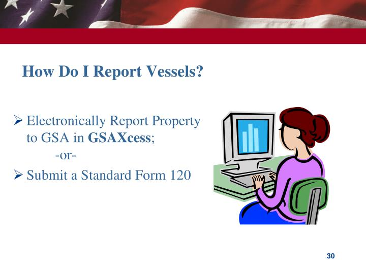 How Do I Report Vessels?