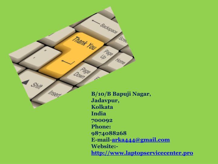 B/10/B Bapuji Nagar,