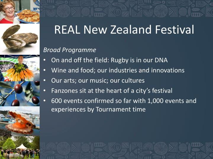 REAL New Zealand Festival