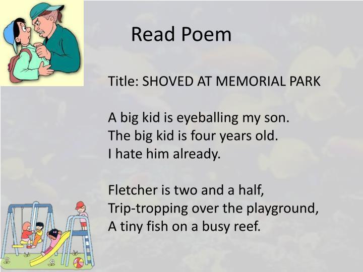 Read Poem