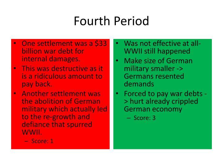 Fourth Period