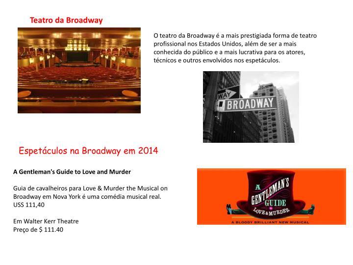 Teatro da Broadway