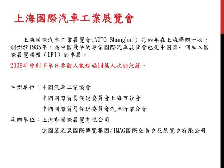 上海國際汽車工業展覽會