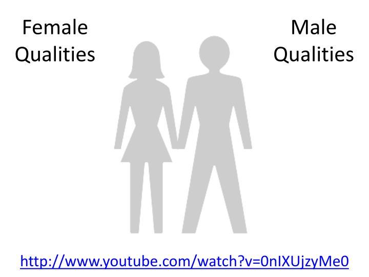 Female Qualities