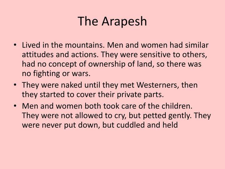 The Arapesh