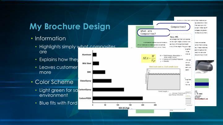 My Brochure Design