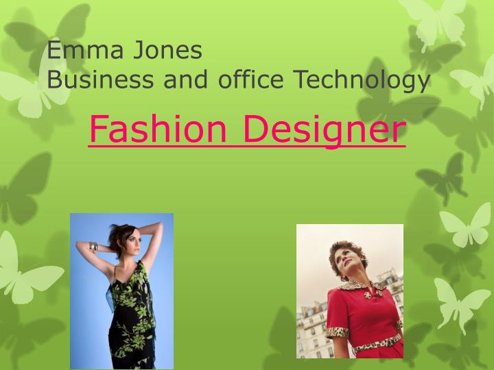 emma jones business and office technology