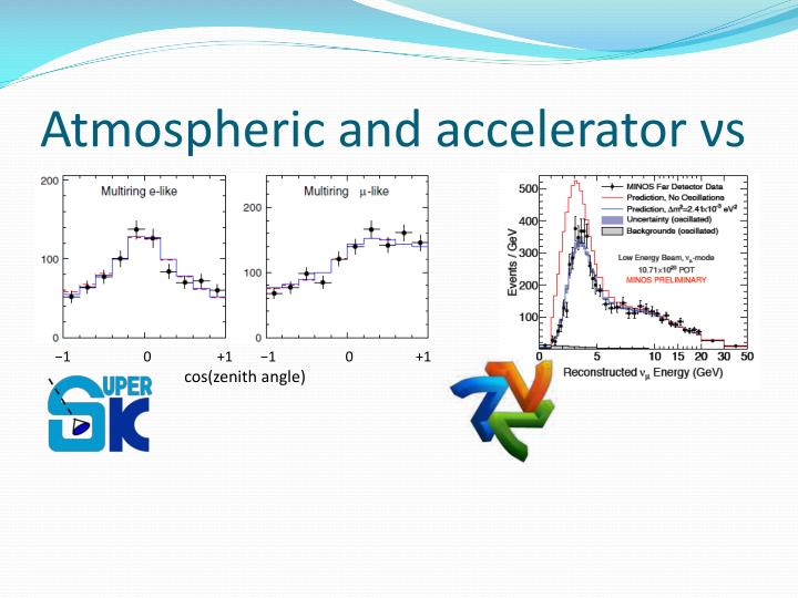 Atmospheric and accelerator