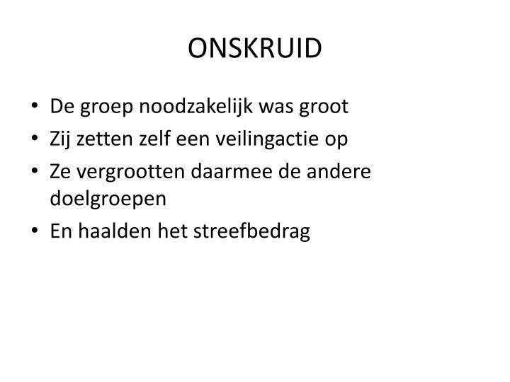 ONSKRUID