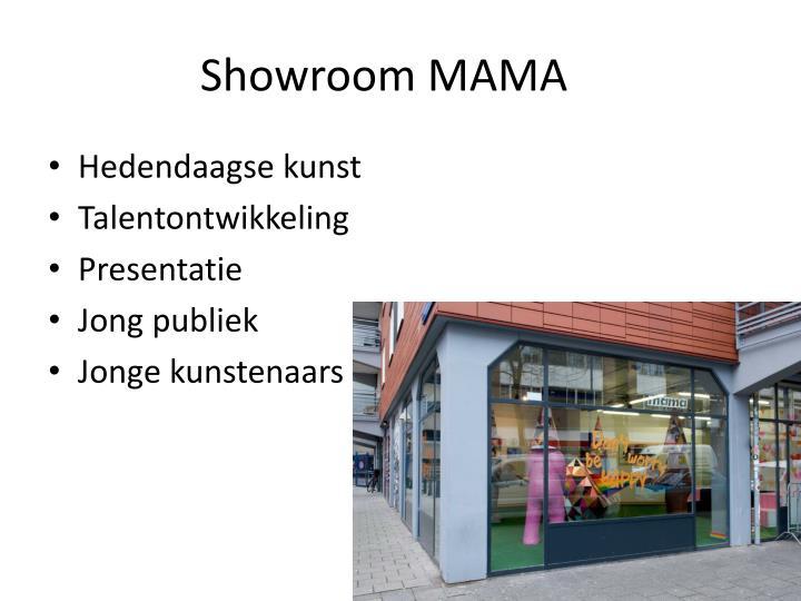 Showroom MAMA