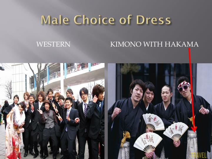 Male Choice of Dress