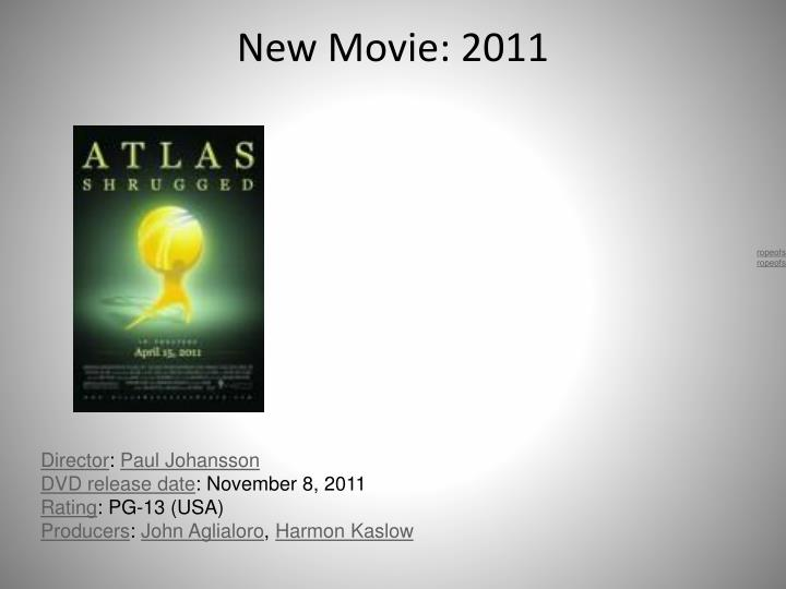 New Movie: 2011
